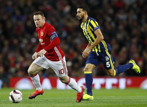 Wayne Rooney dẫn dắt lối chơi Man United