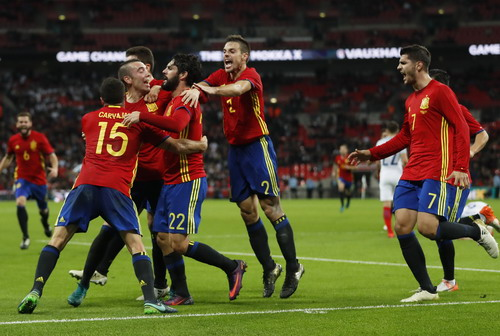 Niềm vui của Tây Ban Nha