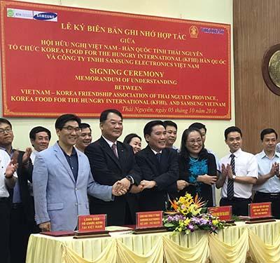 Trường học Hy vọng Samsung tại Thái Nguyên