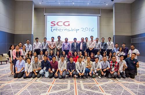 Chương trình SCG Thực tập sinh quốc tế 2016 vừa diễn ra vào tháng 7-2016 với sự tham gia của 39 bạn sinh viên xuất sắc từ khắp các nước Đông Nam Á