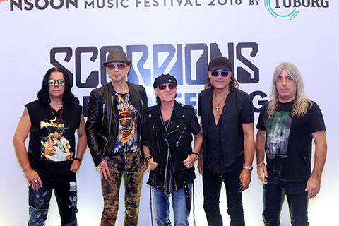Tối 23-10, ban nhạc huyền thoại Scorpion sẽ có buổi biểu diễn được chờ đợi trước khoảng 20.000 khán giả