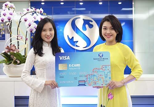 Ngân hàng Shinhan ra mắt thẻ tín dụng mới E-CARD
