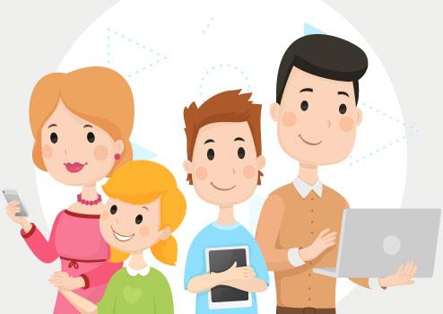 Các bậc phụ huynh nên quan tâm nhiều hơn đến con cái khi chúng lên mạng, các chuyên gia khuyến cáo.