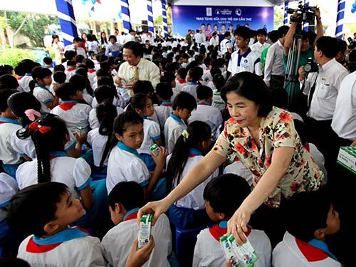 Quỹ sữa Vươn cao Việt Nam tại Cần Thơ