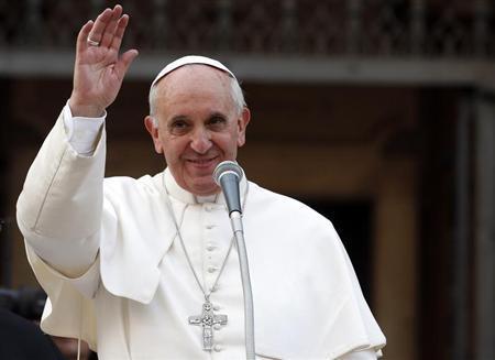 Giáo hoàng Francis. Ảnh: Reuters