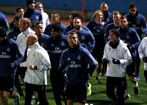 Ngôi sao người Bồ đang cùng Real Madrid tập luyện tại Nhật Bản