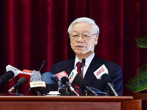 Tổng Bí thư Nguyễn Phú Trọng: Hội nghị Trung ương 4 đã thành công tốt đẹp