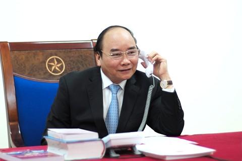 Thủ tướng Nguyễn Xuân Phúc điện đàm với Tổng thống đắc cử Mỹ Donald Trump