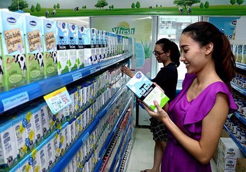 """Website thương mại điện tử """"Giấc mơ sữa Việt"""""""