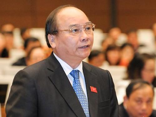 Thủ tướng Chính phủ Nguyễn Xuân Phúc và 4 Bộ trưởng sẽ trả lời chất vấn tại kỳ họp thứ 2, QH khóa XIV