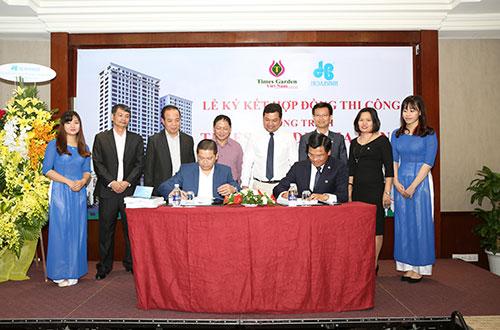 Hòa Bình trúng thầu dự án Times Garden Hạ Long