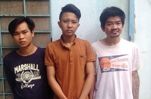 Nhóm cướp xe máy trên đường A4, phường 12, quận Tân Bình ngày 26-8 sa lưới