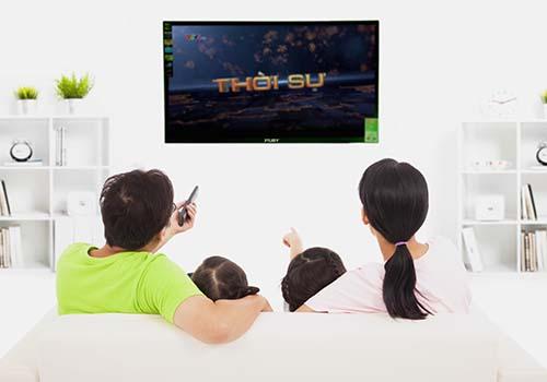Xem tivi chung giúp gắn kết gia đình