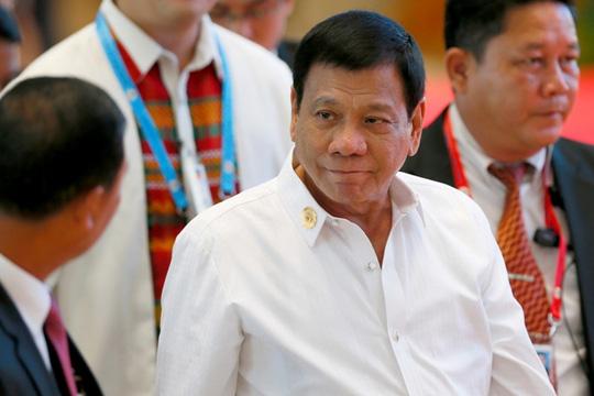 Tổng thống Philippines Rodrigo Duterte - Ảnh: AP