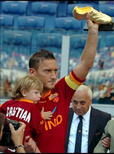 Francesco Totti giành giải thưởng mùa 2006-2007
