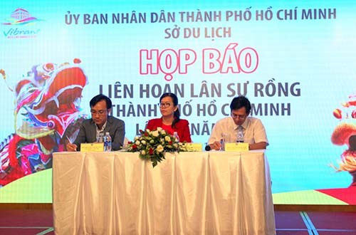 TP HCM tổ chức Liên hoan Lân sư rồng