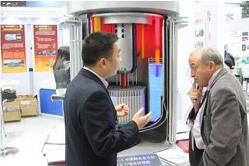 Các nhà nghiên cứu Trung Quốc muốn phát triển một trạm điện hạt nhân nhỏ nhất thế giới đặt vừa trong một container Ảnh: SCMP