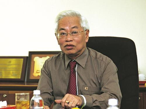 Ông Trần Phương Bình khi còn đương chức Tổng giám đốc Ngân hàng Đông Á - Ảnh: Ngân hàng Đông Á