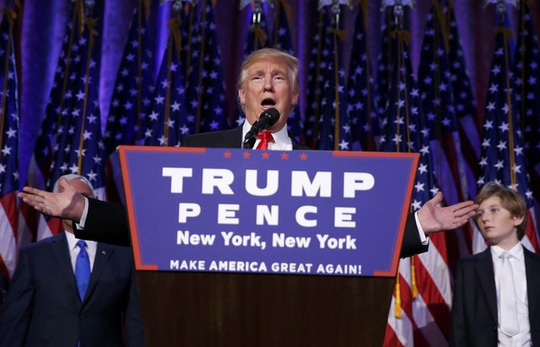 Ông Donald Trump đã chiến thắng trong cuộc chạy đua vào Nhà Trắng