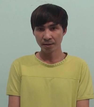 Nguyễn Xuân Long, 1 trong 2 đối tượng tung tin bịa đặt đổi tiền - Ảnh: Bộ Công an