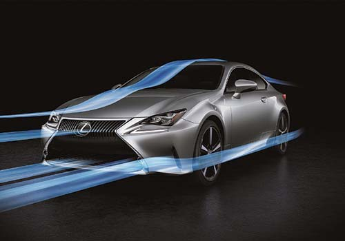 Lexus ra mắt xe coupe RC Turbo