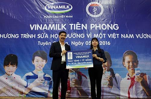 Lễ phát động chương trình sữa học đường năm 2016