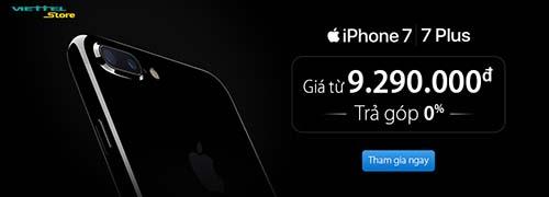 Viettel chính thức phân phối iPhone 7 và iPhone 7 Plus