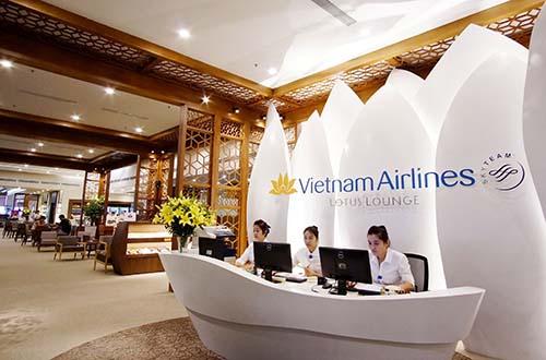 Phòng chờ thương gia đạt tiêu chuẩn 4 sao của Vietnam Airlines