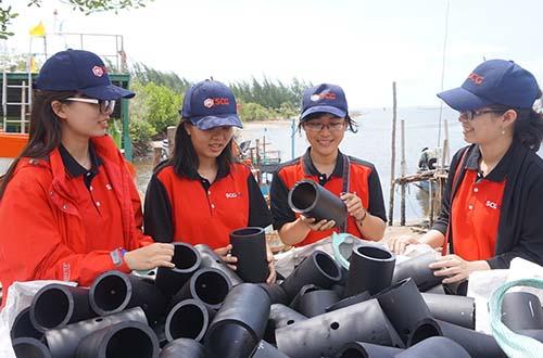 """Vật liệu xây """"Nhà cho cá"""" chính là ống nhựa PE100 có độ bền cao và an toàn cho môi trường biển"""
