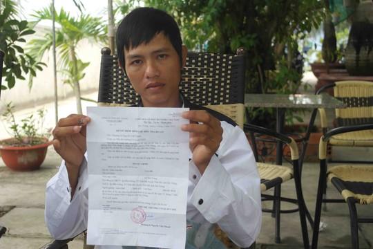 Anh Trần Văn Đở, một trong 3 bị hại