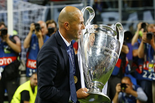Zidane chỉ cần 5 tháng để đưa Real Madrid lên đỉnh châu Âu