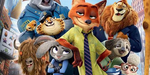 """Cảnh trong phim """"Zootopia"""", phim hoạt hình doanh thu cao nhất 2016 tính đến thời điểm nàyẢnh: screenrant"""