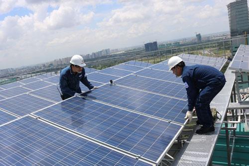 Khuyến khích phát triển điện mặt trời - Ảnh 1.