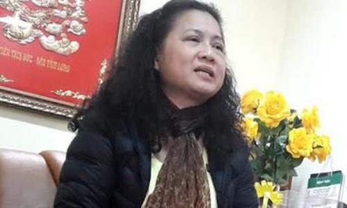 Bà Tạ Thị Bích Ngọc bị cách chức Hiệu trưởng vì thiếu trung thực - Ảnh: TPO