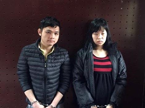 Cặp tình nhân 9X manh động chống trả lại cảnh sát