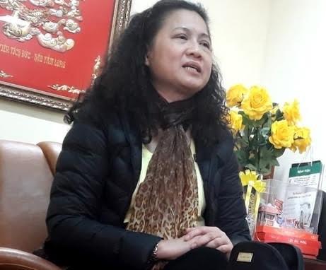 Bà Tạ Thị Bích Ngọc bị khai trừ khỏi Đảng - Ảnh: TPO