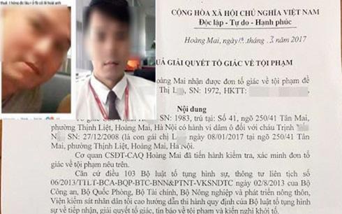 Cao Mạnh Hùng bị tố cáo dâm ô với bé gái 9 tuổi tại Hoàng Mai