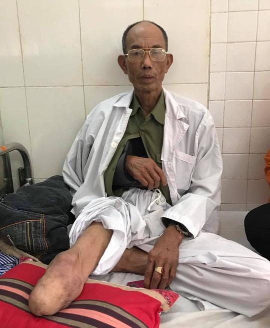 Ông Vin phải nhập viện cấp cứu sau khi bị hành hung