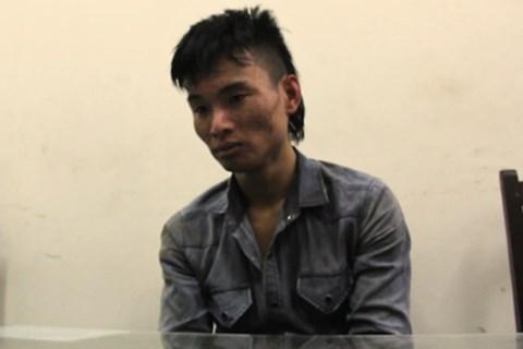 Phan Việt Anh tại cơ quan Công an - Ảnh do công an cung cấp