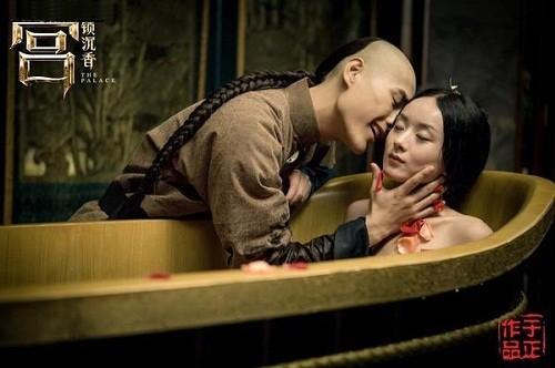 Hậu trường hài hước của những cảnh nóng trong phim Trung Quốc - Ảnh 13.