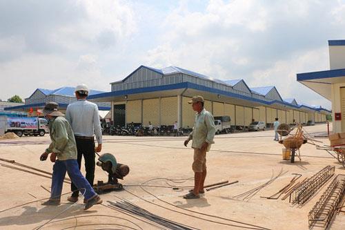 Mở cửa chợ đầu mối lớn nhất Đồng Nai - Ảnh 1.