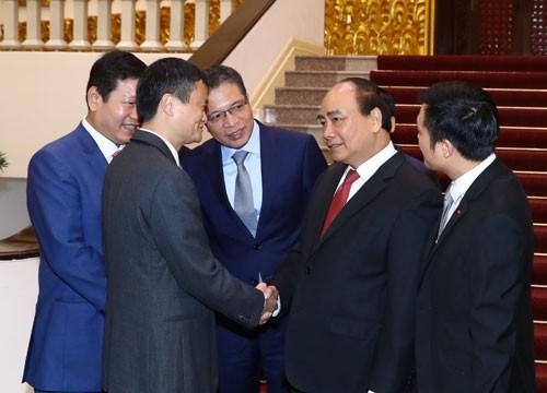 Thủ tướng Nguyễn Xuân Phúc tiếp Chủ tịch Tập đoàn Alibaba - Ảnh 1.