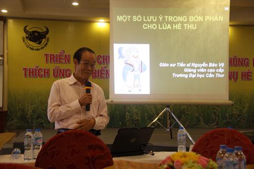Công ty CP Phân bón Bình Điền thường xuyên mở các lớp tập huấn, hướng dẫn kỹ thuật cho nông dân