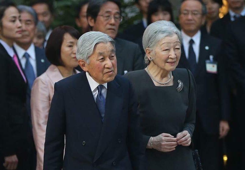 Hoàng hậu Michiko luôn giữ cử chỉ khiêm nhường và nụ cười nhẹ nhàng trên môi - Ảnh: Hoàng Giang Huy