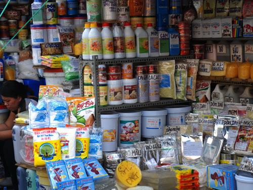 TP HCM vẫn chưa thể di dời chợ hóa chất Kim Biên - Ảnh 1.