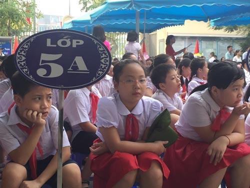 Trường chất lượng cao muốn thi tuyển lớp 6 - Ảnh 1.