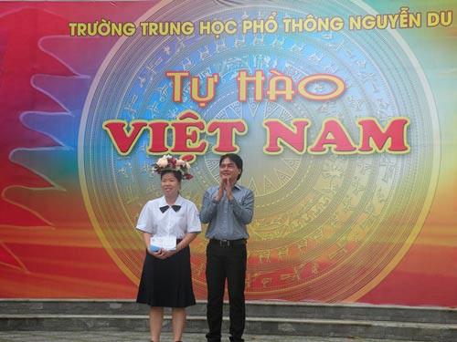 Tuyên dương á quân cuộc thi Tự hào Việt Nam - Ảnh 1.
