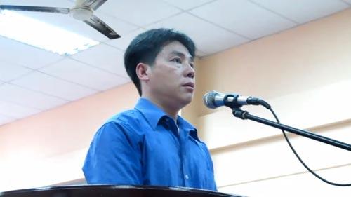 """Đặng Văn Tuấn (SN 1976; ngụ quận 1, TP HCM) bị tuyên tử hình về tội """"Giết người"""" Ảnh: PHẠM DŨNG"""