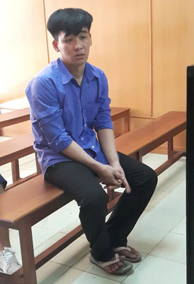 Huỳnh Thanh Phong tại tòa