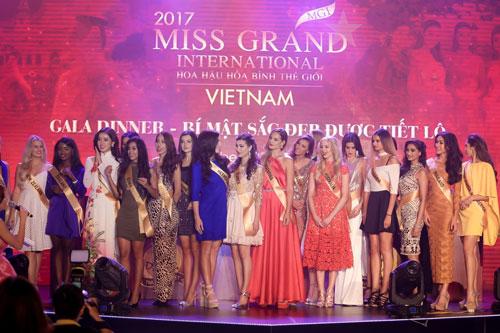 Miss Grand International 2017 chính thức tranh tài tại Việt Nam - Ảnh 1.